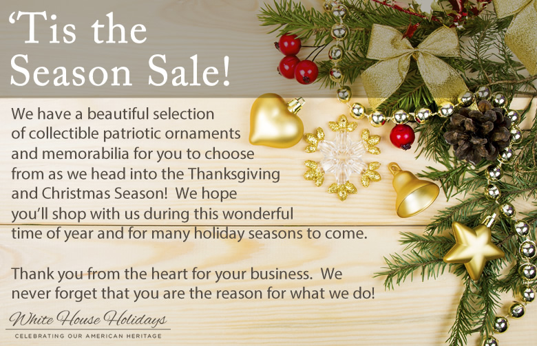 Tis the season sale event welcome to whitehouseholidays m4hsunfo