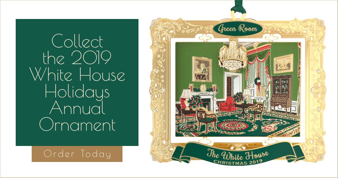 White House Christmas Ornament 2019.White House Holidays