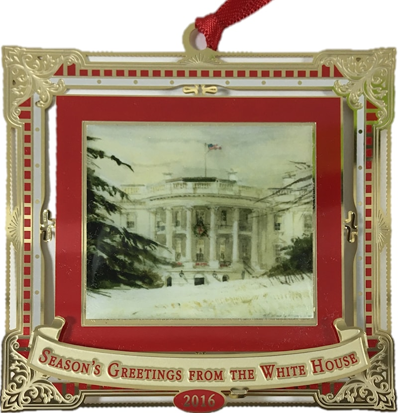 2016 white house holidays ornament jones art completely separate historical institutions such as mount vernon the white house historical association and many other great american organizations m4hsunfo