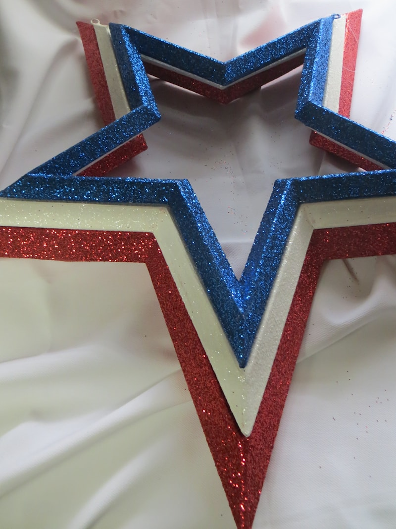 Stars - Red, White and Blue Stacked Set of 3