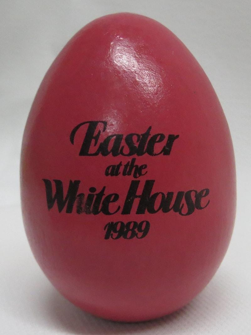 1989 George H W Bush Easter Egg Rose