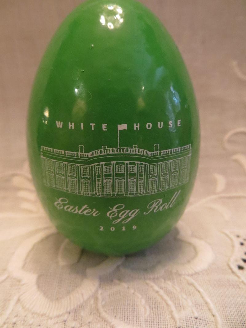 2019 Official White House Easter Egg Green