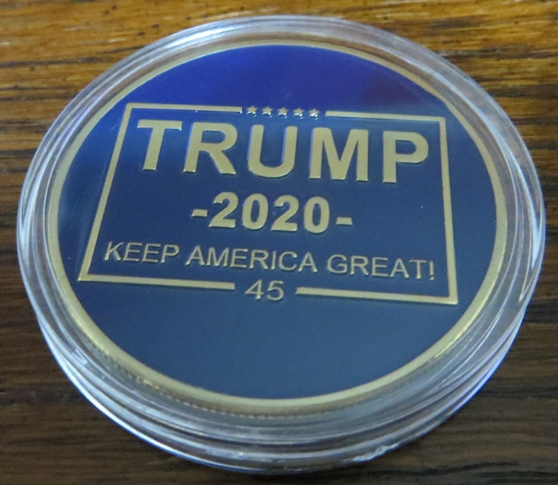 Donald J Trump 2020 Keep America Great Presidential Seal