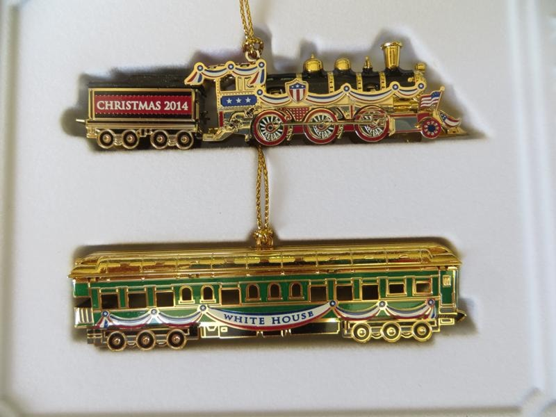 - 2014 Official White House Historical Association Harding Ornament
