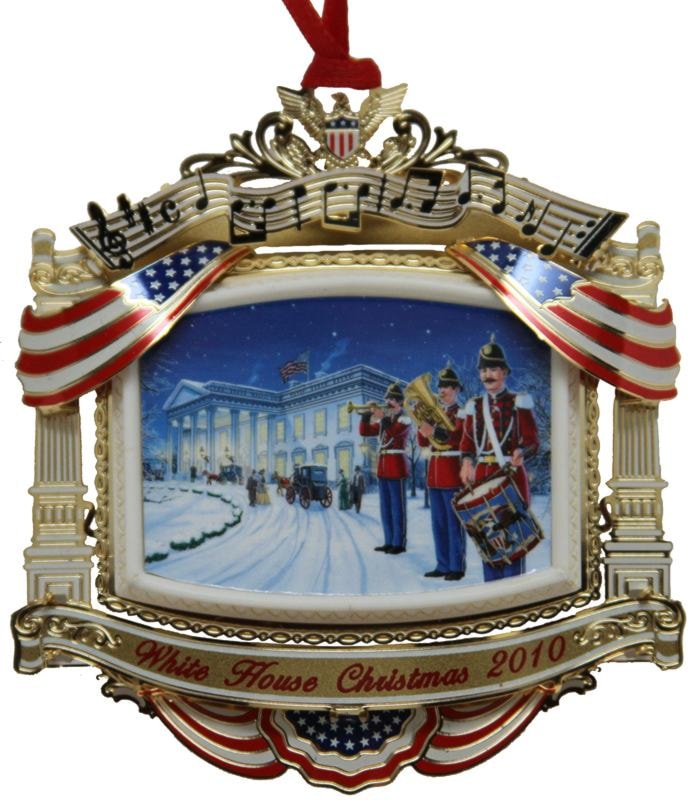 ... completely separate historical institutions such as Mount Vernon, the White  House Historical Association, and many other great American organizations. - 2010 Official White House Historical Association McKinley Ornament